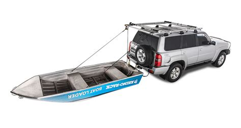 Boat Car Top Carrier by Rear Boat Loader Rblw Rhino Rack