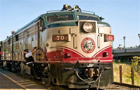 best railroad trips napa valley wine
