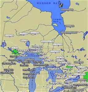 Ontario Waterfalls Map