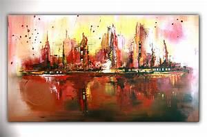 Abstrakte Bilder Acryl : bild citylife abstrakt k nstler acrylmalerei von alex b bei kunstnet ~ Whattoseeinmadrid.com Haus und Dekorationen
