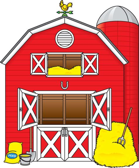 Barn Clipart by Hay Barn Clipart Clipground
