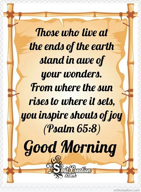 Good morning images wallpaper pictures pics hd free download with quotes for whatsaap with sunrise life quotes. Good Morning Bible Verse - SmitCreation.com