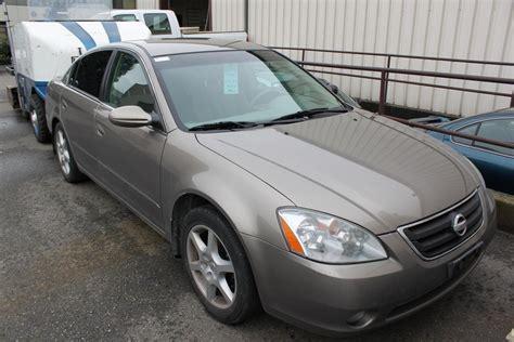 grey nissan altima 2003 grey nissan altima 4dr sedan able auctions