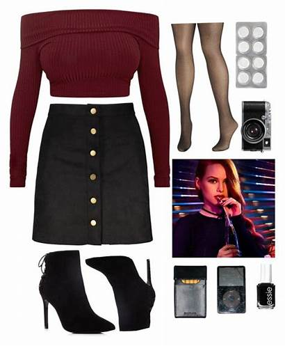 Cheryl Blossom Outfits Outfit Polyvore Clothes Riverdale