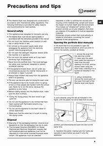 Precautions And Tips  General Safety  Disposal