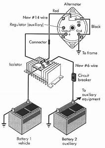 Battery Isolator Diagram
