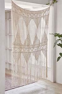 Decoration Pour Rideau : rideau exotique pour un d cor boho chic ethnique ou naturel ~ Melissatoandfro.com Idées de Décoration