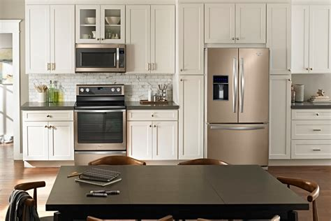 color kitchen appliances whirlpool revisits the bronze age with new color option 2312