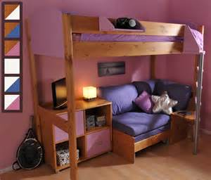 Colour For Bedroom by Stompa Casa 8 High Sleeper Bed With Sofa Bed And Storage