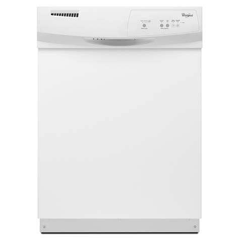 lowes dishwashers shop whirlpool 63 decibel built in dishwasher white