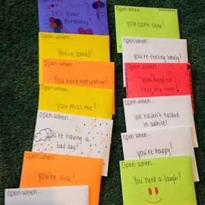 Geschenkideen Für Den Besten Freund : die besten 25 ffnen wenn briefe ideen auf pinterest briefe vom festen freund geschenkkorb ~ Sanjose-hotels-ca.com Haus und Dekorationen