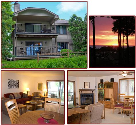door county condo rentals awesome sunset condo door county lighthouse vacation