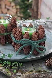 Weihnachtliche Deko Ideen : windlichter mit kerzen tilo ~ Markanthonyermac.com Haus und Dekorationen