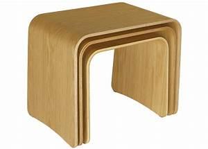Table D Appoint Gigogne : location table basse d 39 appoint en bois bruge ~ Teatrodelosmanantiales.com Idées de Décoration