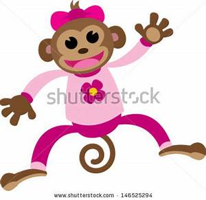 Monkey In Pajamas Clipart