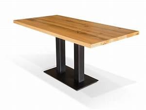 Tisch 8 Personen Quadratisch : gastro esstisch eiche lackiert 160 x 80 cm ~ Michelbontemps.com Haus und Dekorationen