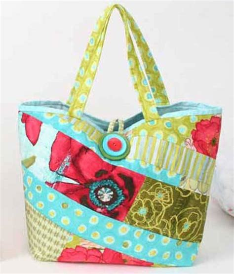 scrappy bag  sewing pattern love  sew