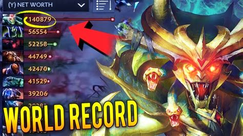 new world record medusa 3000 gpm most epic machine gun farming gameplay dota 2 youtube