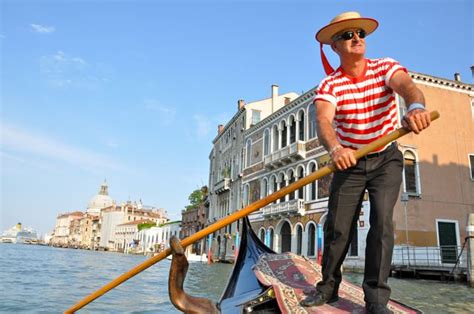 Gondola Boat Man by When In Venice By The Seat Of My Skirt