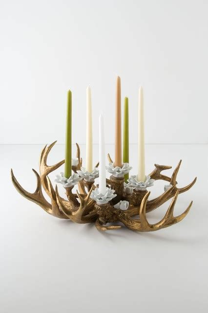 anthropologie candle holder forest coral candelabra eclectic candleholders by