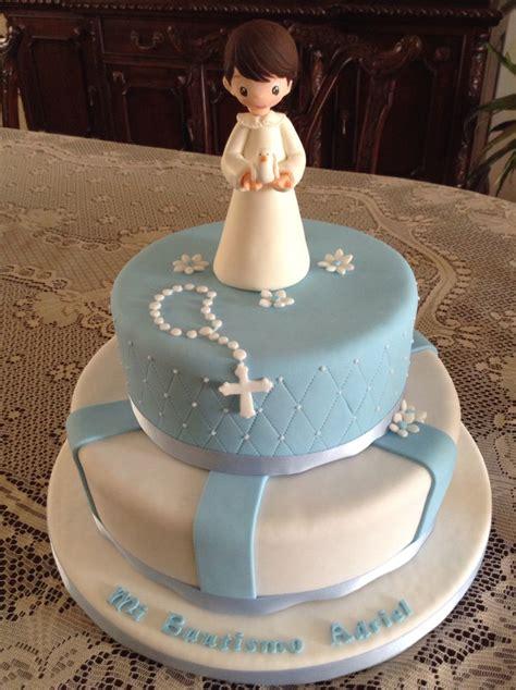 torta de bautismo 50 porciones tortas