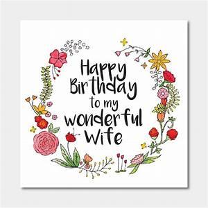 Happy Birthday To My Wife Card – gangcraft.net