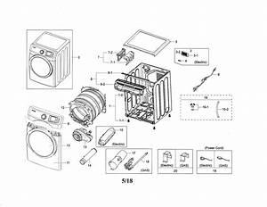 Samsung Model Dve45n5300w  A3