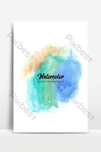 colorful watercolor splash background backgrounds eps