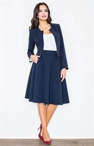 tailleur femme bleu marine veste tailleur pour femme sans With quelle couleur avec le bleu marine 1 comment porter le pantalon carotte nos conseils en photos