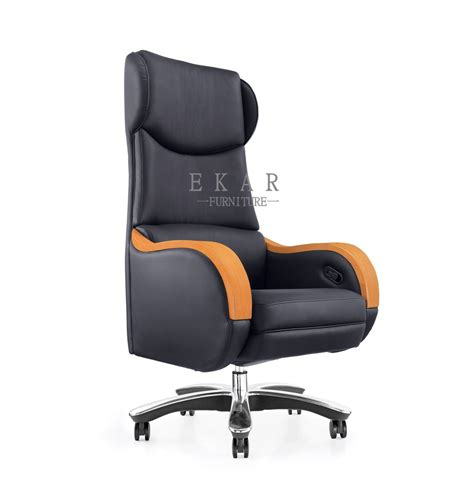 wooden armrest electric adjustable luxury executive office