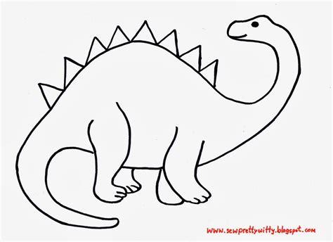 Dinosaur Template Dinosaur Applique Template Quilts Applique