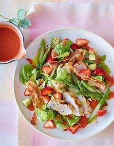 Spargel Avocado Salat : salat mit h hnchen und erdbeer dressing rezept essen ~ Lizthompson.info Haus und Dekorationen