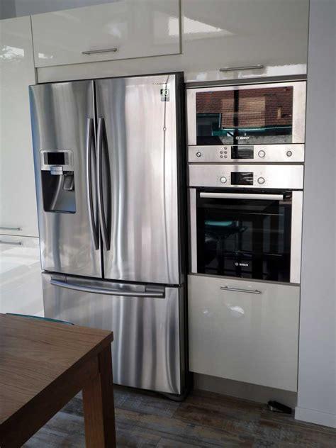 cuisine frigo meuble cuisine frigo top charming cuisine avec frigo americain integre with meuble cuisine