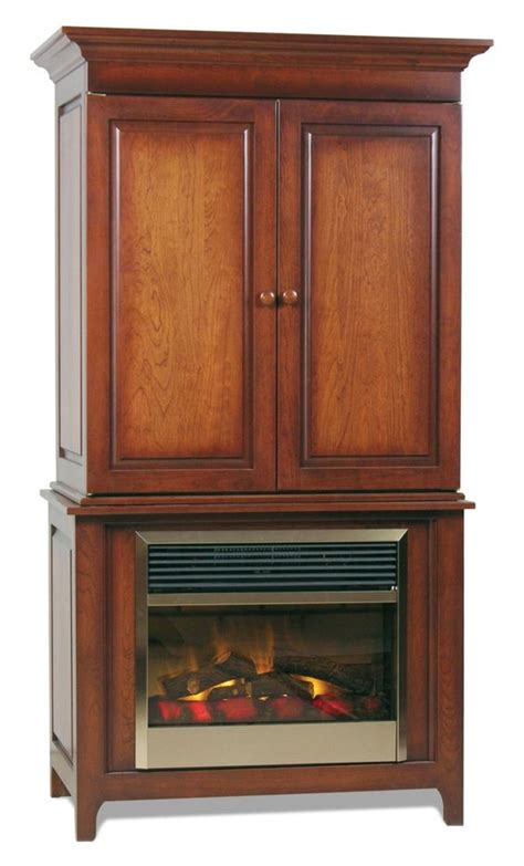 entertainment center with fireplace insert amish lancaster fireplace entertainment center electric