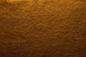 Dark Yellow Gold Leather Background