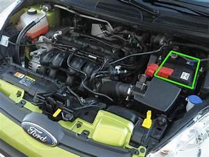 Ford Fiesta Car Battery Location