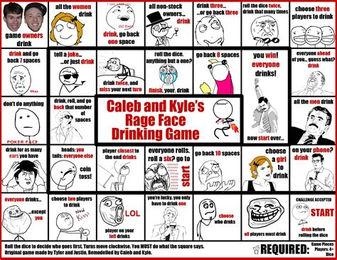 Meme Drinking Game - board game funny memes