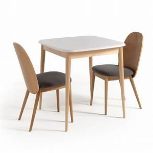 Chaises La Redoute Interieur : chaise crueso gris lot de 2 la redoute interieurs chaises la redoute ~ Teatrodelosmanantiales.com Idées de Décoration