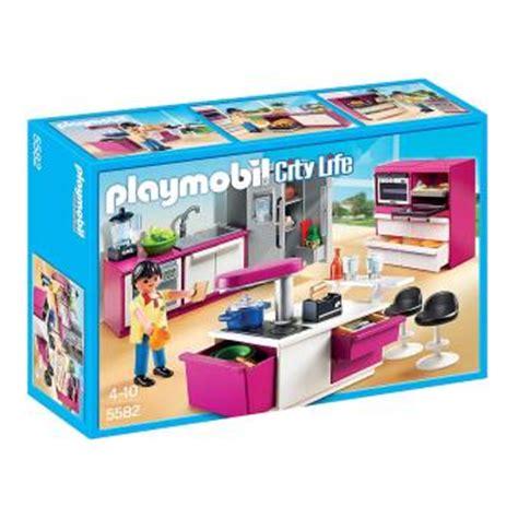 jeu de cuisine avec gratuit playmobil city 5582 cuisine avec îlot playmobil
