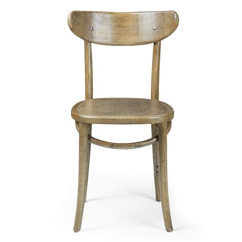 30487 furniture chairs simple adeco elm wood simple vintage style dining chair with