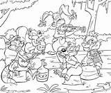 Jamboree Swamp Weasyl sketch template