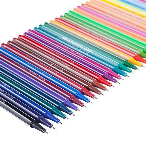 best colored pens tanmit fineliner color pens set 0 4 mm felt tip pens 36