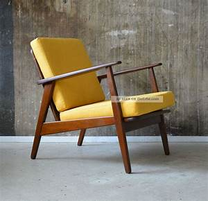 60er teak sessel danish design 60s easy chair vintage midcentury vodder ara for Danish design sessel