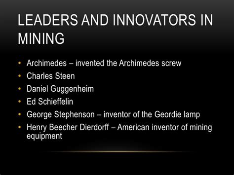Who Invented The Salt Lamp by Mine Mine Mine Powerpoint Presentation