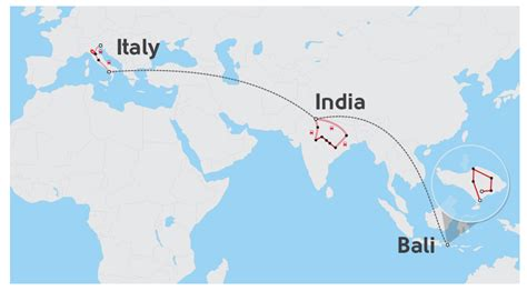 italy india indonesia discovery intrepid travel mt