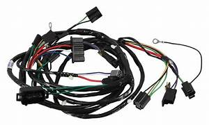 Forward Lamp Wiring Harness  1973 Chevrolet Chevelle  El