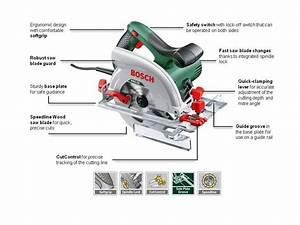 Bosch Circular Saw Pks 55 A  Saw Blade  Parallel Guide