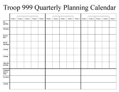 reasons     marketing calendar  template
