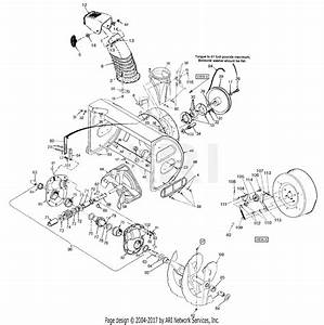 Mtd 31ae983i190 983 Snowthrower  1998  Parts Diagram For 33
