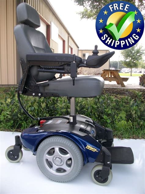invacare pronto  power chair  seat lift